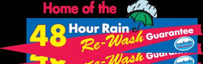 48-Hour Rain Re-Wash Guarantee